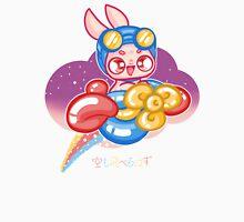 Moon Bunnies: Balloon Aeroplane Unisex T-Shirt