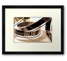 Film Negative Framed Print