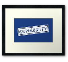 Community College Framed Print