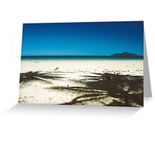 Dunk Island - seen from North Mission Beach Greeting Card