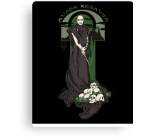 Voldemort Nouveau (Revised) Canvas Print
