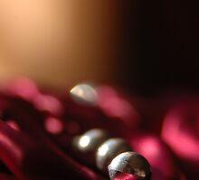 Bead Balls Silver Yin Crimson Yang © Vicki Ferrari Photography by Vicki Ferrari