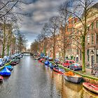 Sunday Afternoon in Amsterdam by Bradley Old