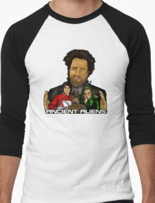 Ancient TV Aliens Men's Baseball ¾ T-Shirt