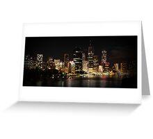 Citylights - Kangaroo Point  Greeting Card