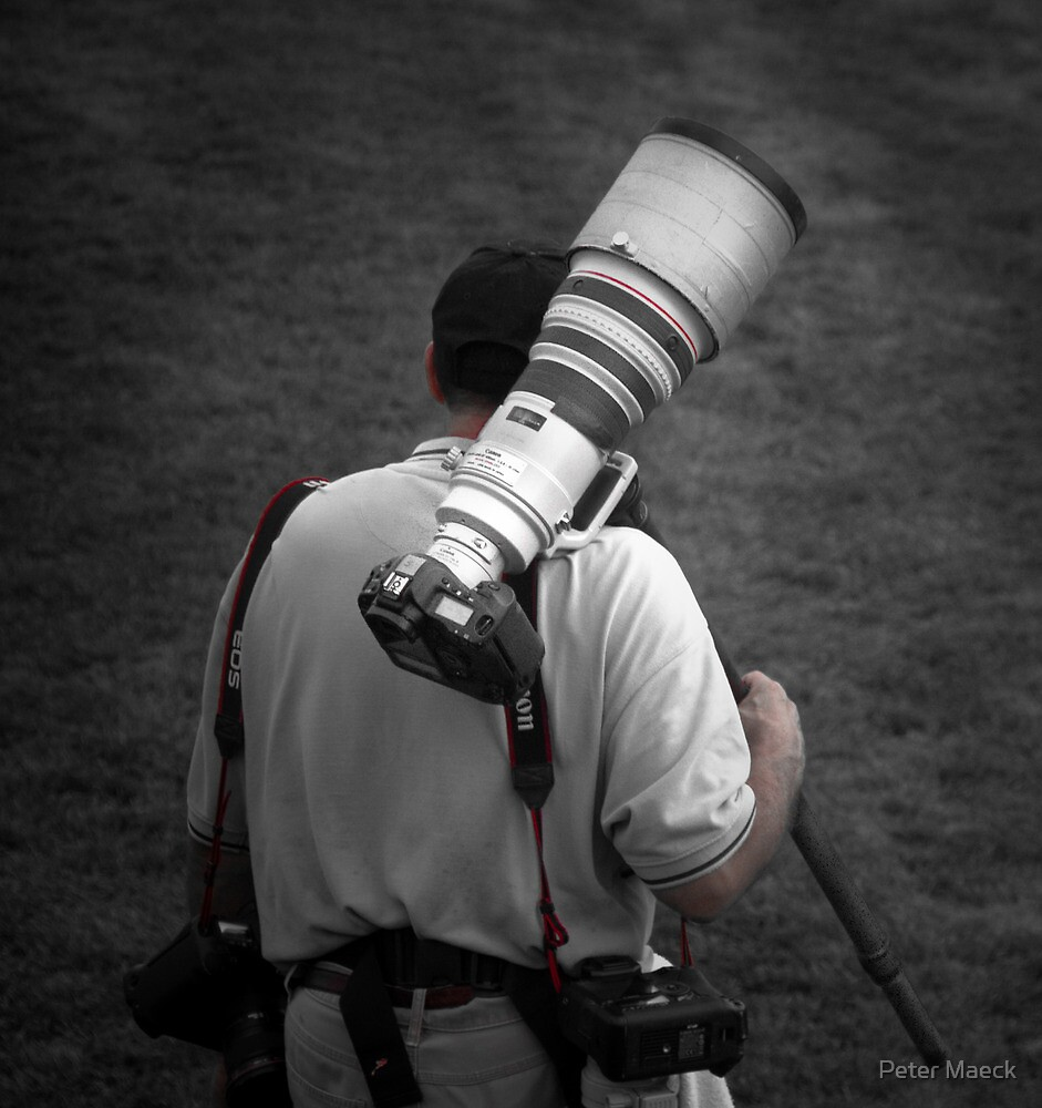 Lens Envy by Peter Maeck