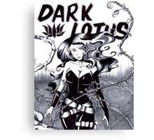 Bella Donna is Dark Lotus Canvas Print