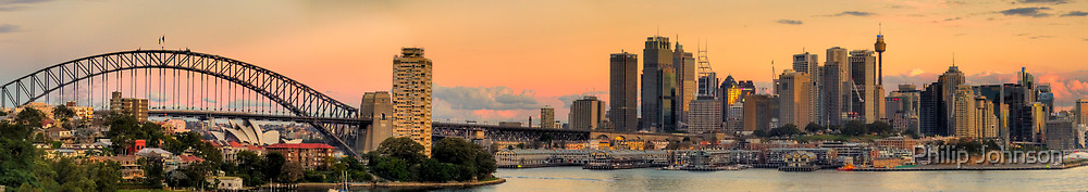 Vista - Sydney Harbour (35 Exposure HDR Panorama) - The HDR Experience by Philip Johnson