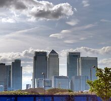 Canary Wharf by Bradley Old