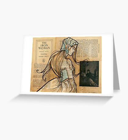 Iron Woman 10 Greeting Card