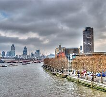 View from the South Bank by Bradley Old