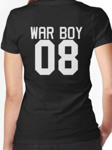 War Boy Women's Fitted V-Neck T-Shirt