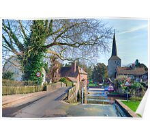 Eynsford Ford Poster