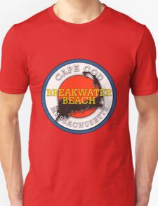 Breakwater Beach - Cape Cod Massachusetts Unisex T-Shirt