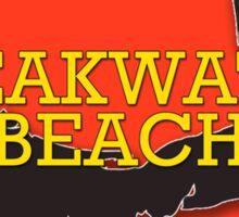 Breakwater Beach - Cape Cod Massachusetts Sticker