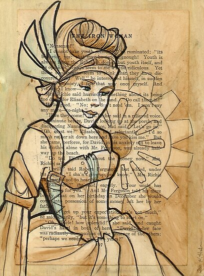 Iron Woman 11 by Karen  Hallion