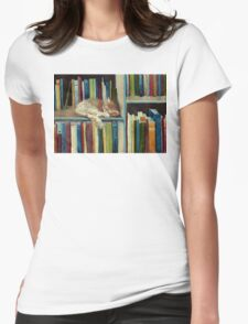 Quite Well Read Womens Fitted T-Shirt
