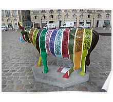 CowParade Bordeaux Poster