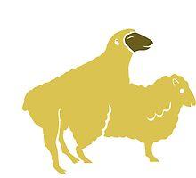 SHEEP MAKE LOVE BREEDING baa by SofiaYoushi