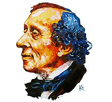 Hans Christian Andersen Photographic Print