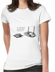 Favourite Record Womens Fitted T-Shirt