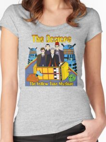 The Yellow Time Machine Women's Fitted Scoop T-Shirt