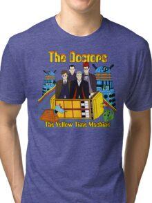 The Yellow Time Machine Tri-blend T-Shirt
