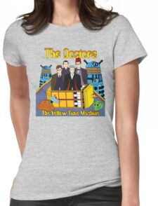 The Yellow Time Machine Womens Fitted T-Shirt
