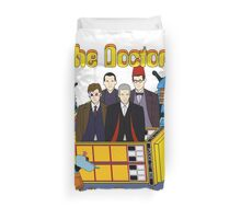The Yellow Time Machine Duvet Cover