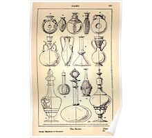 A Handbook Of Ornament With Three Hundred Plates Franz Sales Meyer 1896 0353 Vases Bottle Poster