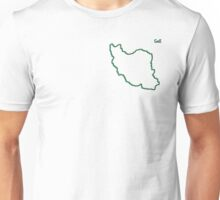 """Iran """"Citizen of the Earth"""" small Unisex T-Shirt"""