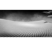 White Sands Desolation Photographic Print