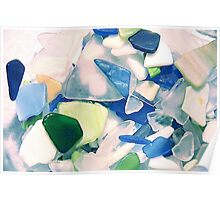Beach Glass Poster