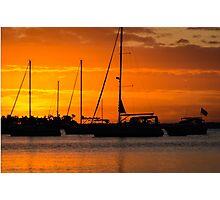 Sunrise Annapolis Harbor Maryland Photo Photographic Print
