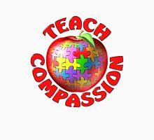 Teach Compassion Autism Awareness Puzzle Apple Unisex T-Shirt