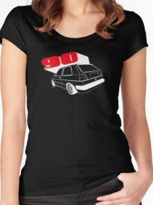 Mrk 2 Big Bumper Women's Fitted Scoop T-Shirt