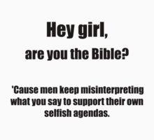 Are you the bible? by Nhaw Meow
