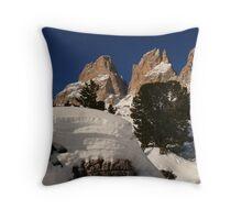 Dolomites Throw Pillow