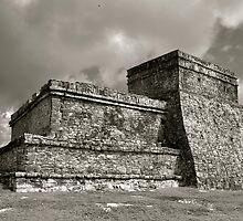 Las Ruinas de Tulum III by Valerie Rosen