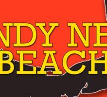 Sandy Neck Beach - Cape Cod Massachusetts Sticker