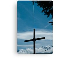 The Airplane Canvas Print