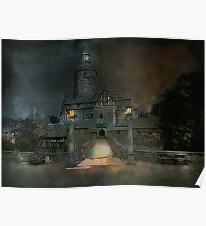 Czocha castle..... Poster