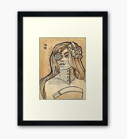 Iron Woman 6 Framed Print