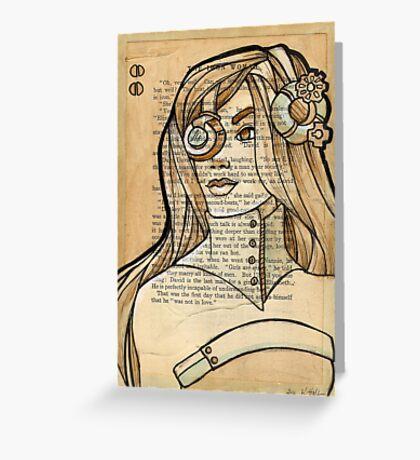 Iron Woman 6 Greeting Card