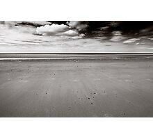 Empty BW Photographic Print