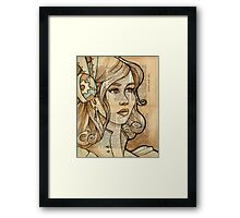 Iron Woman 2 Framed Print
