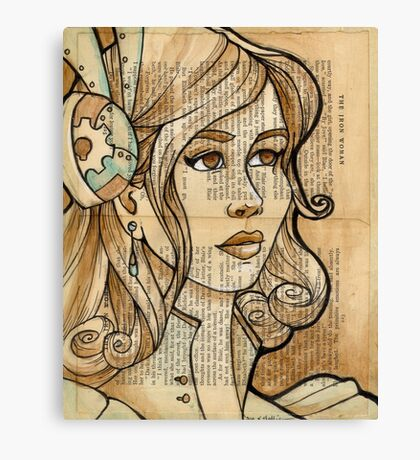 Iron Woman 2 Canvas Print