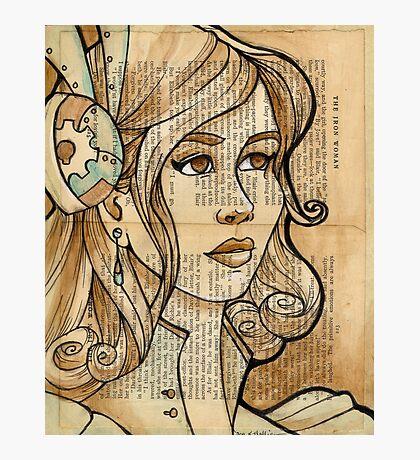 Iron Woman 2 Photographic Print