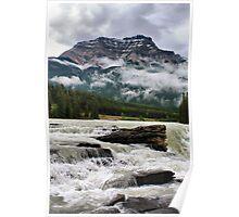 Athabasca Falls, Jasper NP Poster