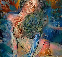 Graffiti Dreamer by hubertfineart